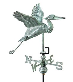 Good Directions® Garden Blue Heron Weathervane