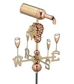 Good Directions® Garden Wine Bottle Weathervane