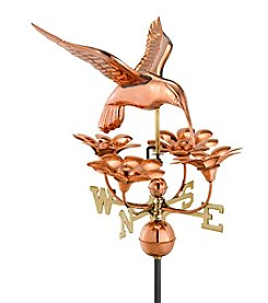 Good Directions® Hummingbird with Flowers Weathervane