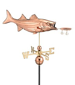 Good Directions® Standard Bass with Lure Weathervane