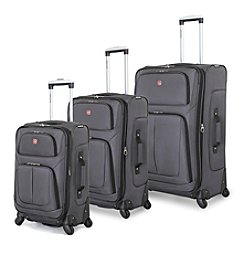SwissGear® 360 Multi-Directional Spinner Luggage Collection