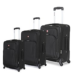 SwissGear® Black Luggage Collection