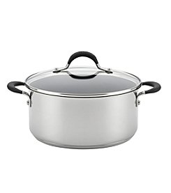 Circulon® Momentum™ Stainless Steel Covered Dutch Oven