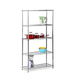 Honey-Can-Do Urban Chrome Storage Shelf