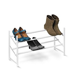 Honey-Can-Do Two-Tier Expandable Shoe Rack