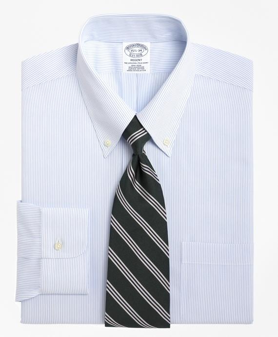 Perfect Men's Non-Iron Slim Fit Mini Pinstripe Dress Shirt HK91