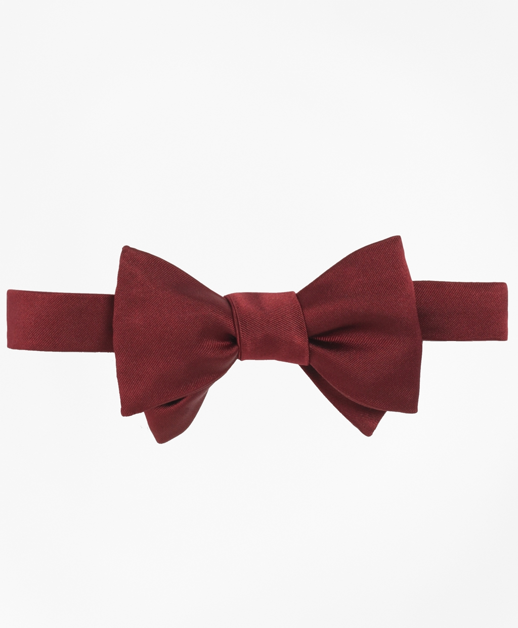 New 1920s Style Ties and Bowties Brooks Brothers Mens Butterfly Self-Tie Bow Tie $89.50 AT vintagedancer.com