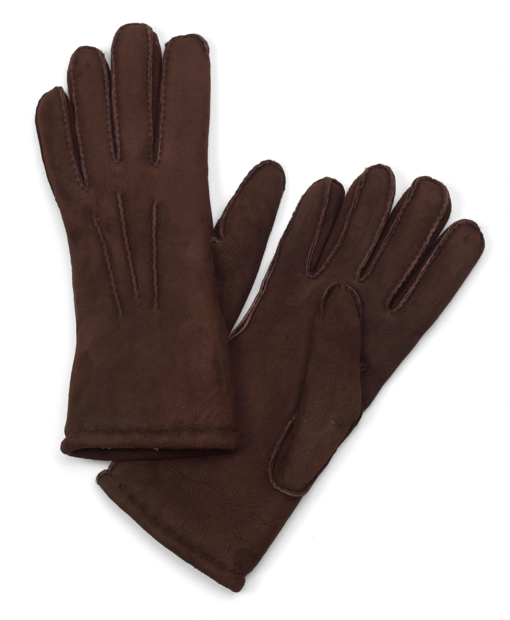 1920s Mens Accessories: Gloves, Spats, Pocket Watch, Collar Bar Brooks Brothers Mens Shearling Gloves $248.00 AT vintagedancer.com