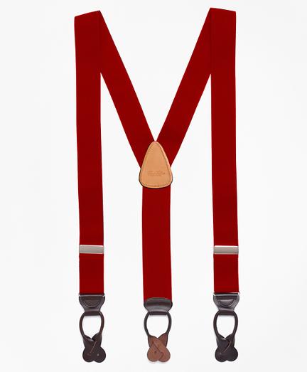 Men's Vintage Style Suspenders Solid Suspenders $118.00 AT vintagedancer.com