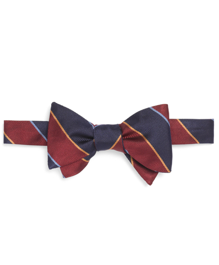 History of 1920s Mens Ties, Neckties, Bowties Argyle Sutherland Rep Bow Tie $89.50 AT vintagedancer.com
