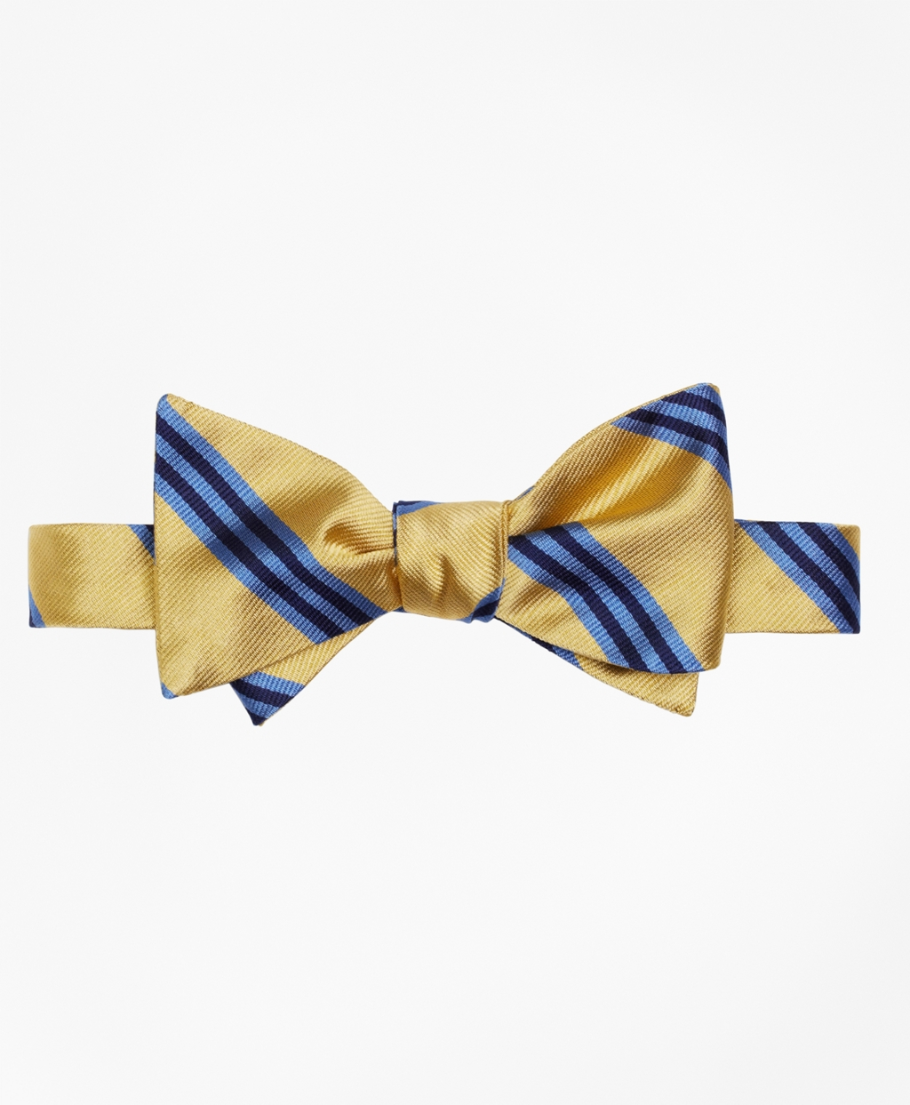 1920s Bow Ties | Gatsby Tie,  Art Deco Tie Brooks Brothers Mens BB1 Rep Bow Tie $59.50 AT vintagedancer.com