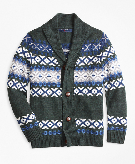 Men's Vintage Sweaters – 1920s to 1960s Retro Jumpers Merino Wool-Blend Shawl Collar Sweater $49.25 AT vintagedancer.com