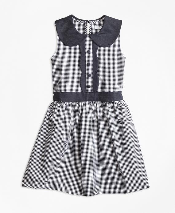 Kids 1950s Clothing & Costumes: Girls, Boys, Toddlers Gingham Dress $88.00 AT vintagedancer.com