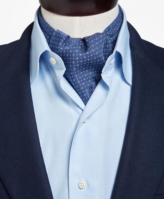 New 1930s Mens Fashion Ties Follow UsFlower and Diamond Print Ascot $160.00 AT vintagedancer.com