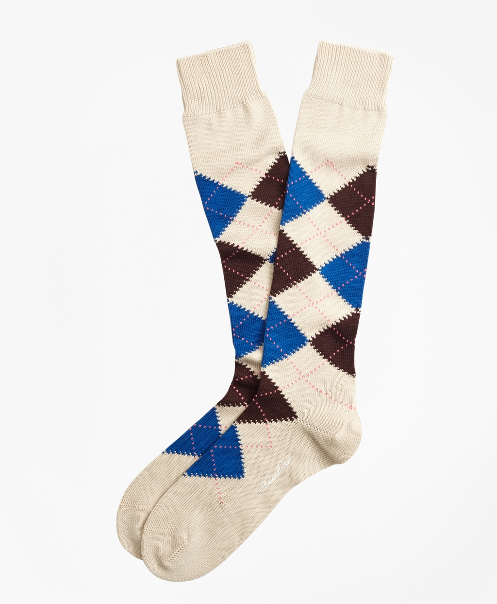 1920s Men's Underwear, Pajamas, Robes and Socks History Brooks Brothers Mens Argyle Over-The-Calf Socks $34.50 AT vintagedancer.com