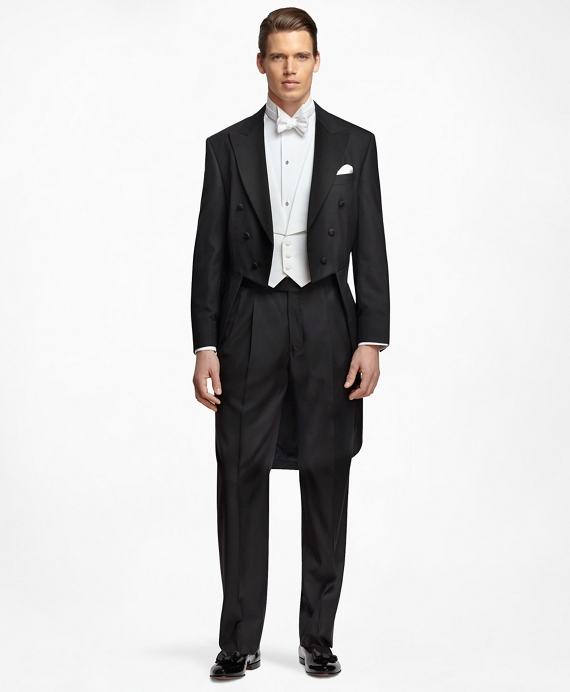 Victorian Men's Formal Wear, Wedding Tuxedo Golden Fleece® Tails $2,100.00 AT vintagedancer.com
