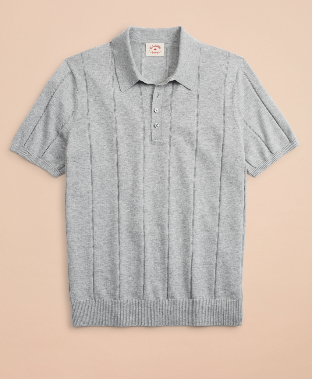 Vintage Shirts – Mens – Retro Shirts Brooks Brothers Mens Striped Cotton Sweater Polo $59.50 AT vintagedancer.com