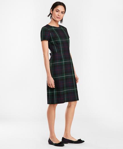 1960s Dresses | 60s Dresses Mod, Mini, Jakie O, Hippie Tartan Wool Twill A-Line Dress $158.00 AT vintagedancer.com