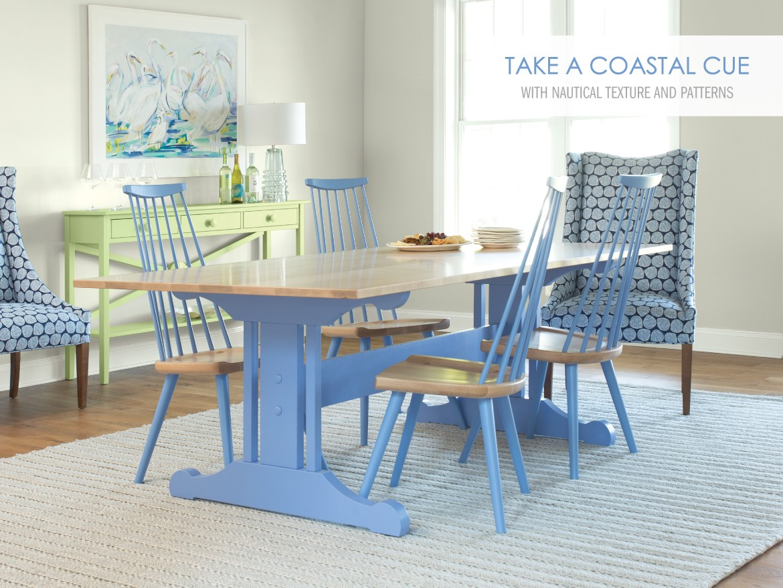 Maine Cottage Coastal Style Painted Solid Wood Furniture