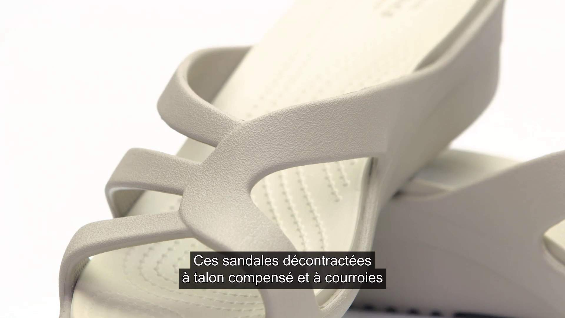 Compensés Pour Sandales Sanrah Talons De Crocs Courroies À Femmes hdCQtsr
