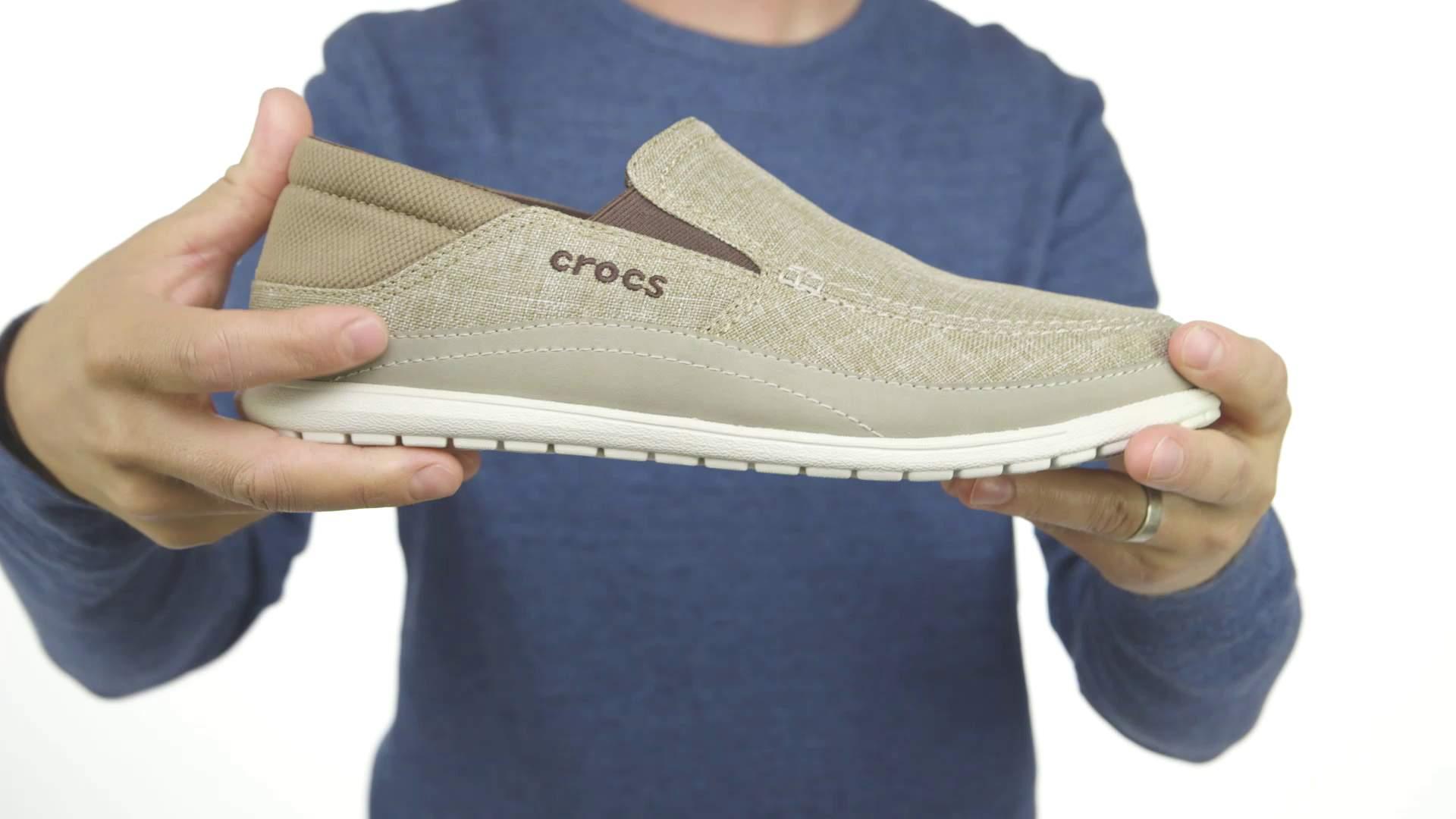 5151dd0252039a Men s Santa Cruz Playa Slip-On - Loafer - Crocs