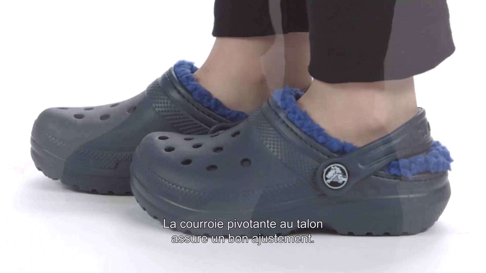171d394a88c5 Kids  Classic Fuzz-Lined Clog - Crocs