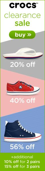 Up to 60% off! Shop our Clearance Section at Crocs Australia!