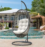 Panama Jack® Graphite Hanging Chair