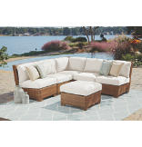 Panama Jack St. Barth's 6-Piece Sectional
