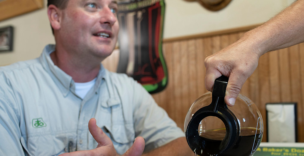 Curtis Hoffbeck in conversation