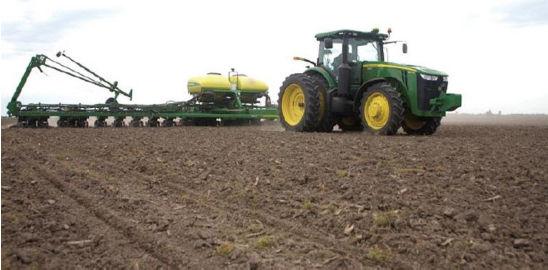 Planting fieldwork.