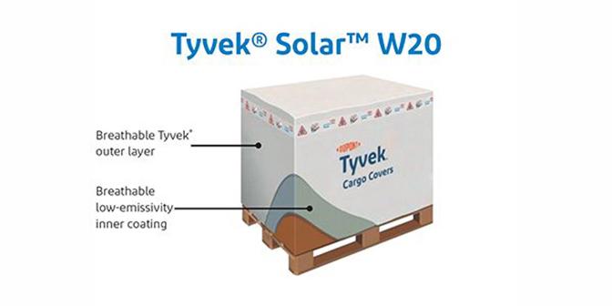 Tyvek® Solar™ W20 cargo cover