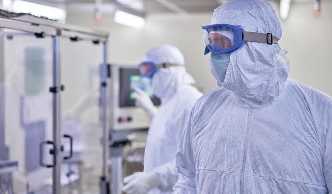 Comfortable, sterile garments for ultimate protection
