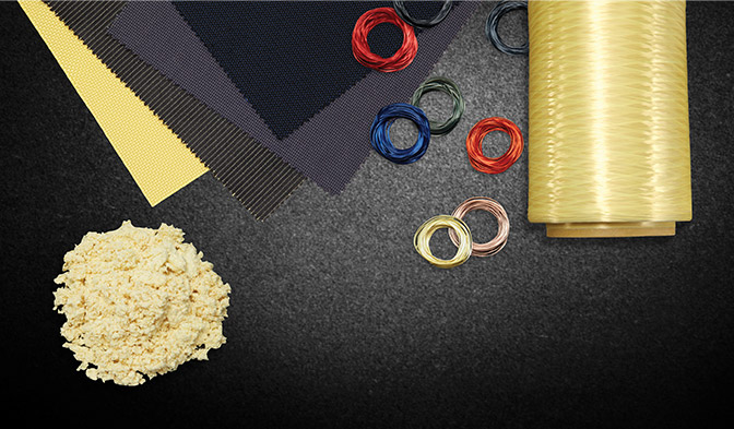 Kevlar® can be found in a variety of product forms, including pulp, yarn, stable, fabric and composite structures
