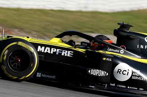 Renault F1 Team Film Day