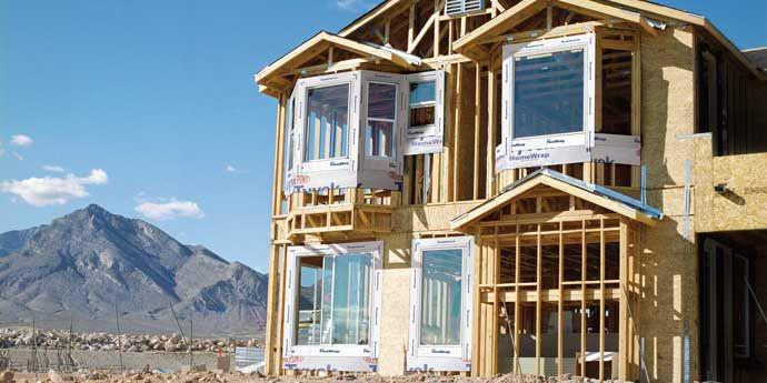 杜邦™ Tyvek® 特卫强® 材料用于木结构(冷弯薄壁轻钢结构)住宅保护