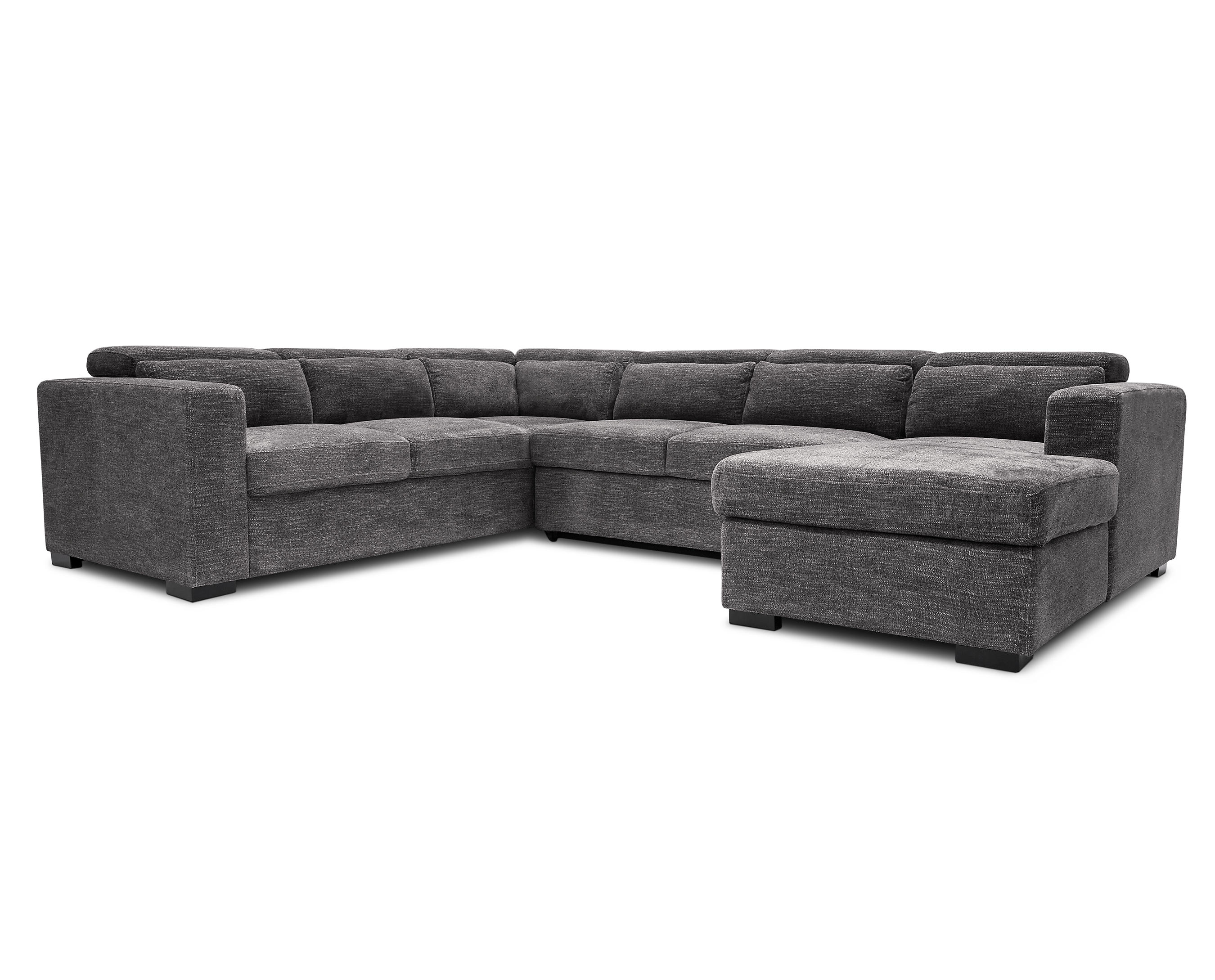 Allusion 3 Pc Sleeper Sectional Furniture Row