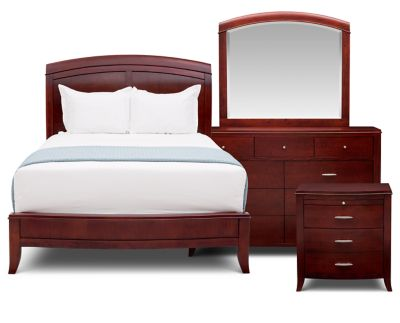 Anderson 4 Pc Bedroom Set Furniture Row