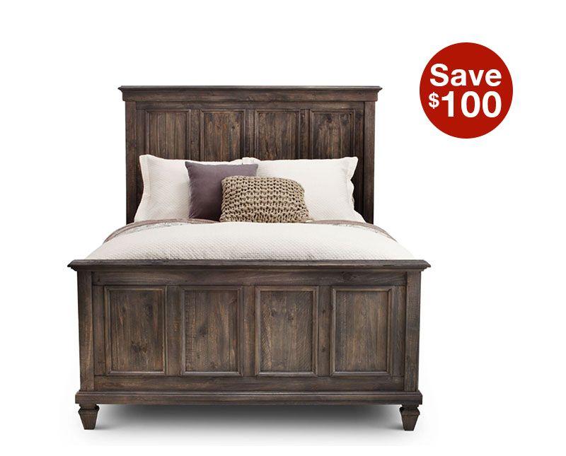 Sedona Panel Bed Queen