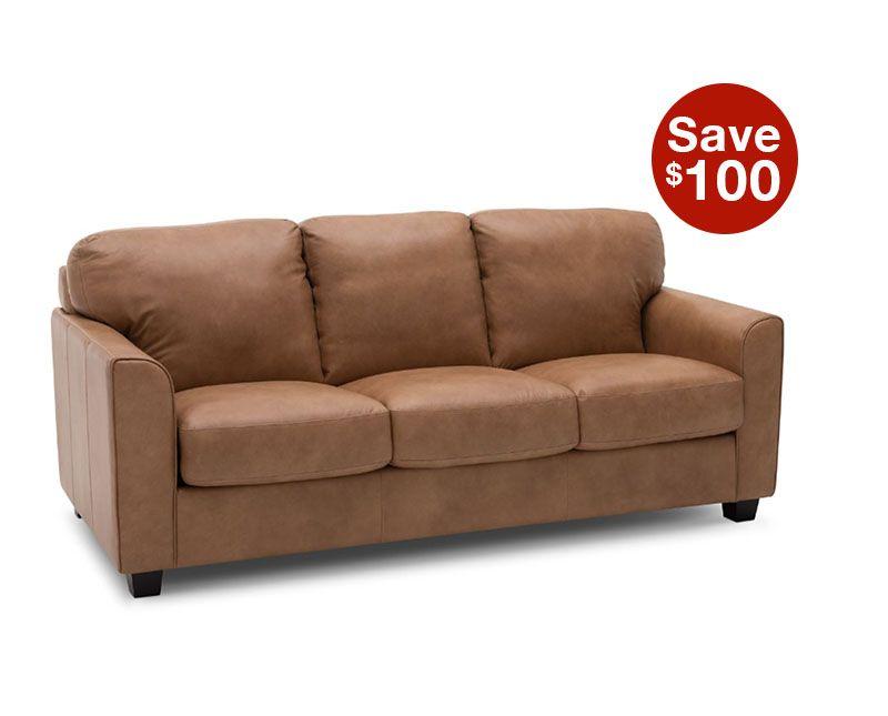 Palatino Leather Sofa