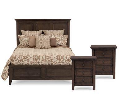 Bering Panel Bedroom Set Furniture Row