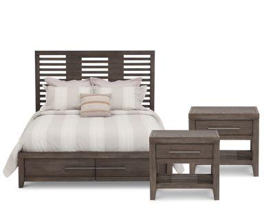 Bravo Storage Bedroom Set Furniture Row