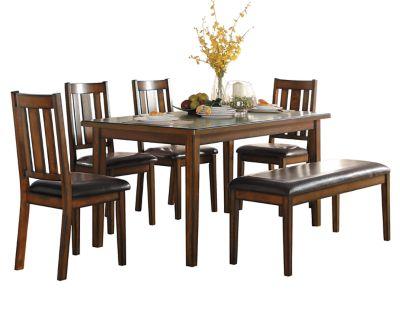 Cranston 6 Pc Dining Set Furniture Row