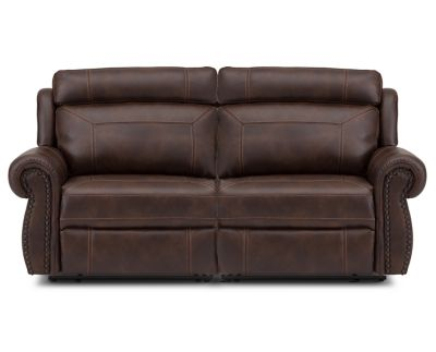 Picture of: Carlyle Ii Vegan Leather Reclining Sofa Furniture Row