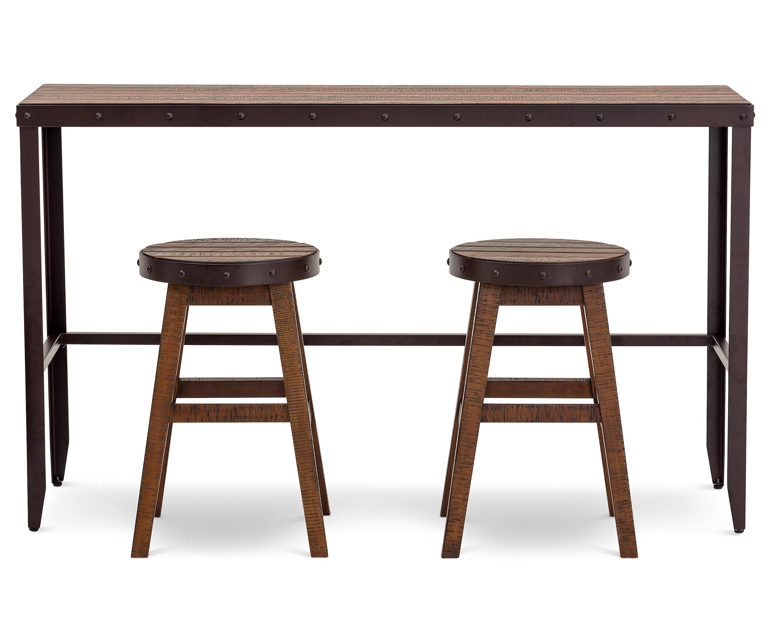 Casa Viejo 3 Pc Pub Table Set Furniture Row
