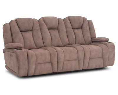 Daughtrey Power Reclining Sofa Furniture Row