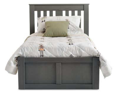 Picture of: Dove Platform Bed Furniture Row