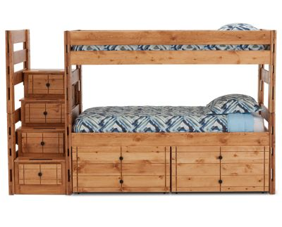 Durango Bunk Bed With 15 Quot Storage Drawers And Steps