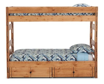 Durango Bunk Bed With 6 Quot Storage Drawers Furniture Row