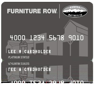 Furniture Financing Row